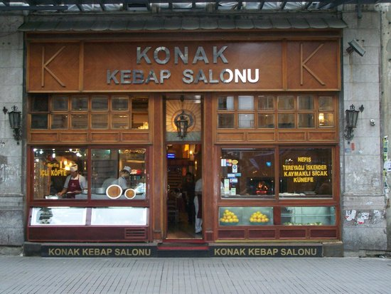 Konak: Their old location