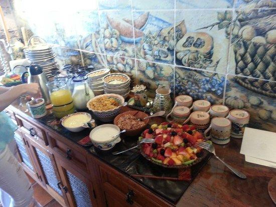 Casa Estrella de la Valenciana: Desayuno espectacular!