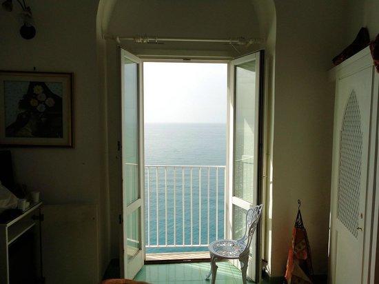 Hotel La Ninfa: Vista dalla camera