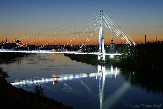 фото тюмень мост влюбленных