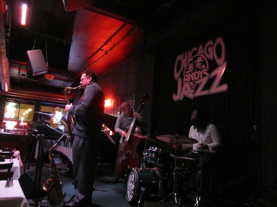 Andy's Jazz Club: At Andy's.