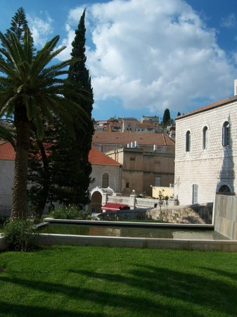 The Church of the Annunciation: View from the churchyard