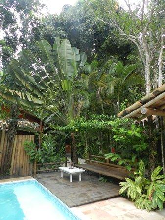 Jardim de Trancoso Pousada: projeto paisagístico integrado com a mata nativa