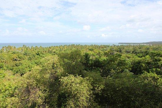 Pousada Mangabeiras: Herrliche Weitsicht vom Balkon