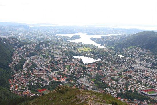 Mount Ulriken: Вид с горы