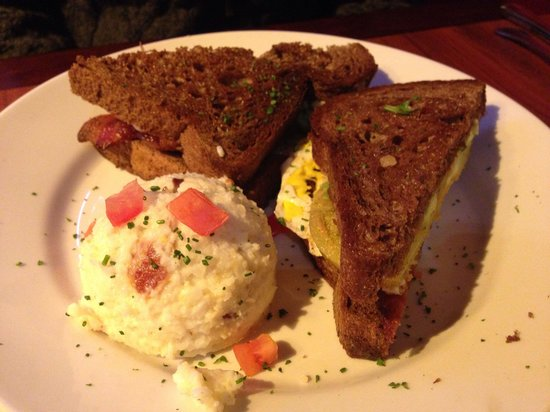 Miss Shirley's: Southern Slammer with Fried Green Tomatoes
