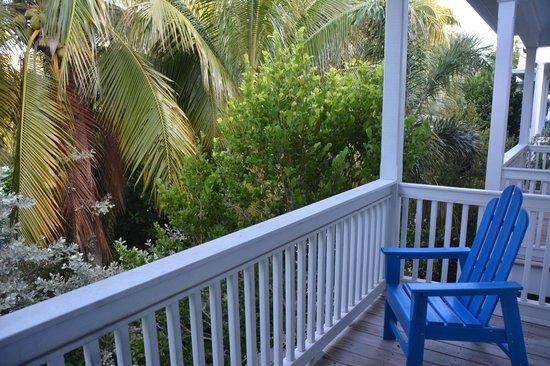 Parrot Key Hotel and Resort: Balcon côté piscine