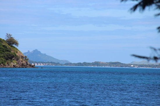 Malolo Island Resort: вид из бунгало