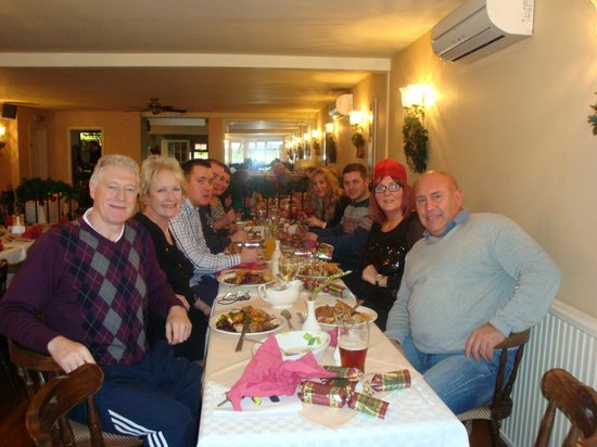 Thornton-le-Moor, UK: Lunchtime Christmas meal December 2013
