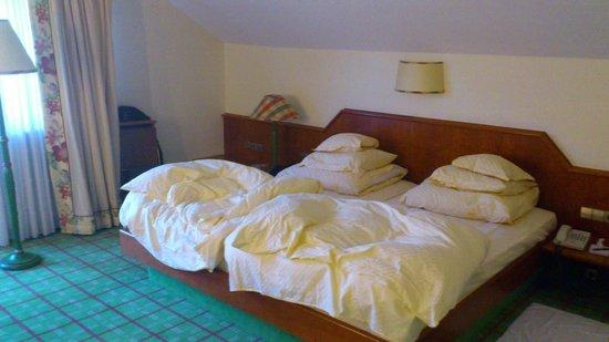 Hotel Engel Obertal: La chambre