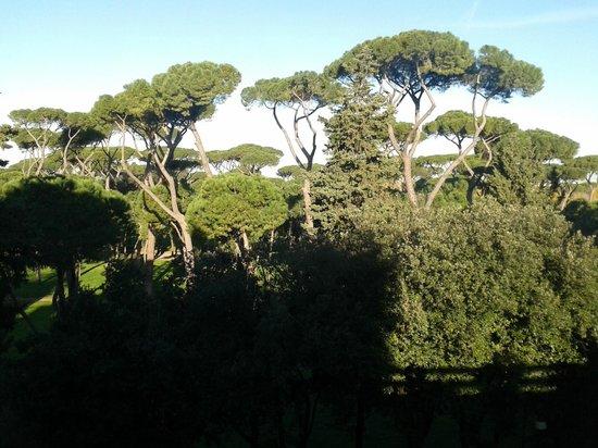 NH Collection Roma Vittorio Veneto: Jardines de Villa Borghese