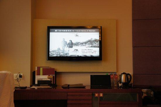 Jingmin Central Hotel: 液晶電視