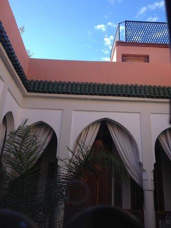 Riad Quara : Vue de la fenêtre de chambre