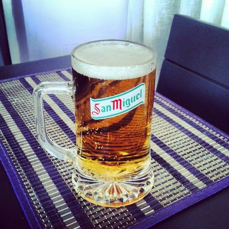 An Caisteal: Nice cold beer !!