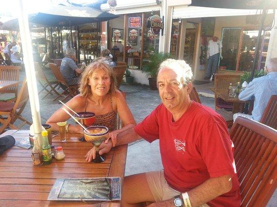 Wet Wendy's Margarita House and Restaurant: John & Kathy @ Wet Wendy's