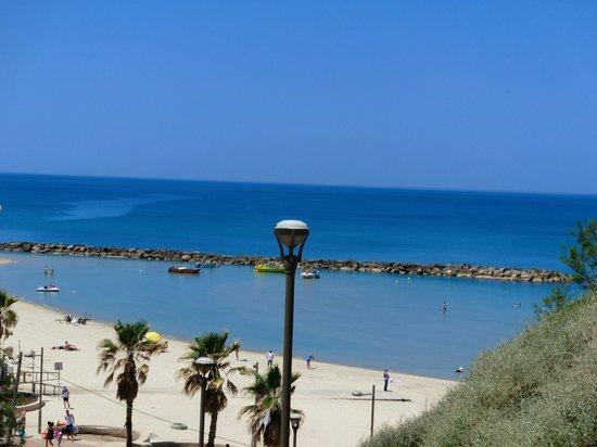 Park Hotel Netanya: Городской пляж