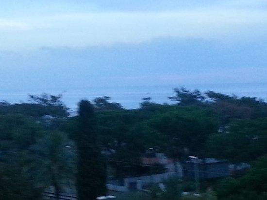 Reymar Hotel: Het uitzicht vanuit mijn kamer.