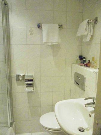 Hampshire Hotel - Beethoven Amsterdam: Baño de la habitación 110.