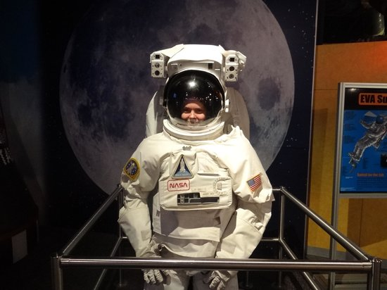 WonderWorks: Me as an astronaut