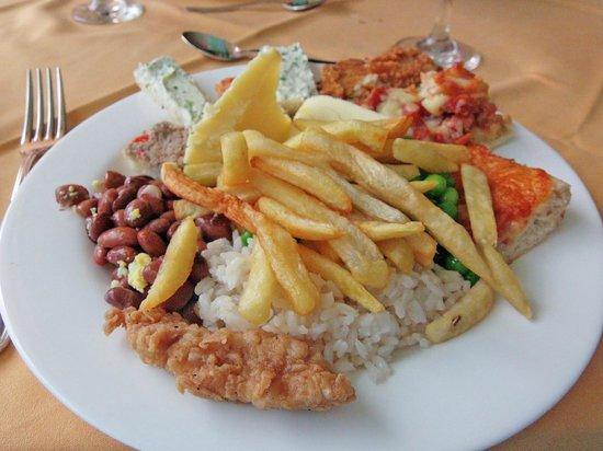 Hotel Palma Real: Average Dining