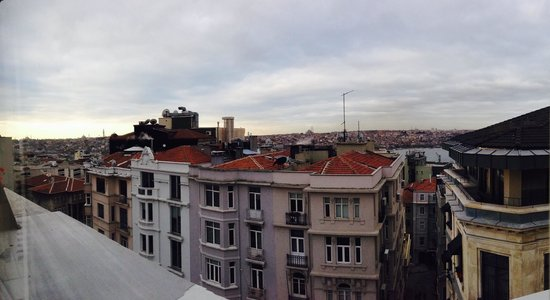 Galata Antique Hotel: View From My Room