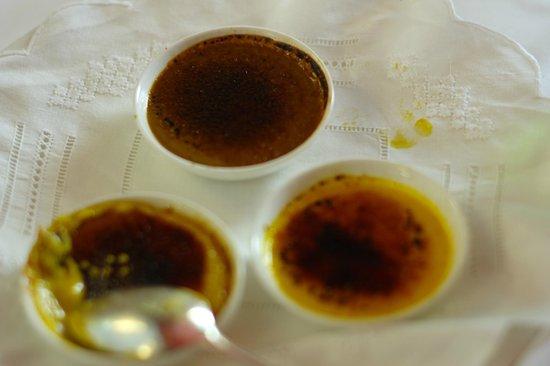 Ristorante Garibaldi: crema catalana con aromi diversi