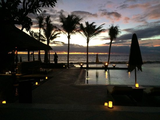 The Legian Bali: Sunset