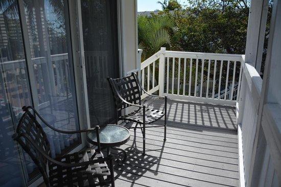 Seaside Inn: Terrasse commune