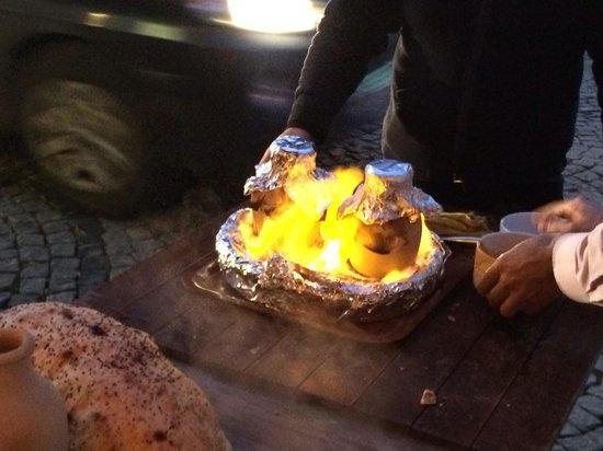Cafe Rumist : Hot pot kebab:))