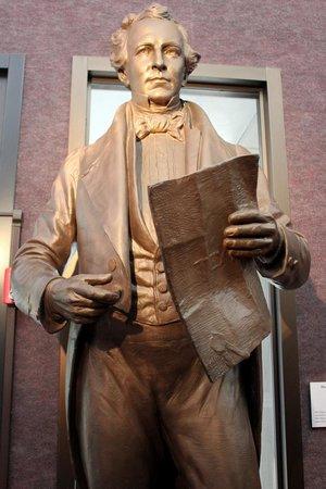 Star of the Republic Museum : Museum of the Republic - Statue of Stephen F Austin