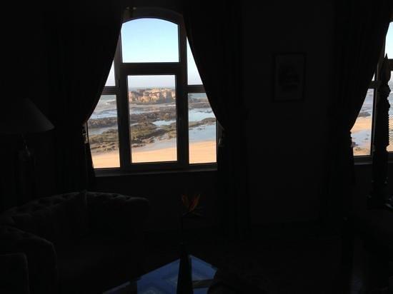Riad Perle d'Eau : ausblick aus der suite