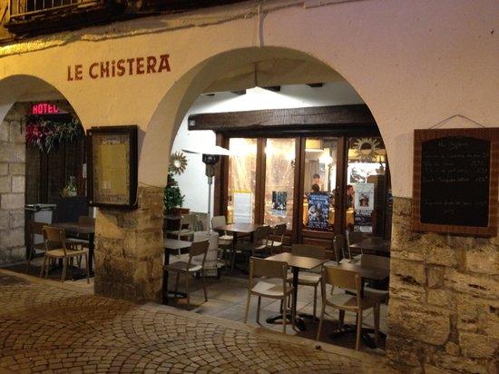 Le Chistera: entrada