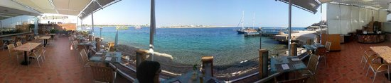 Lido Sharm Hotel: Panorama view from the restaurant