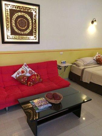Hotel Merida Santiago : Large suite!