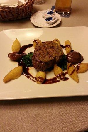 Hotel Restaurant Lowen: Filetto