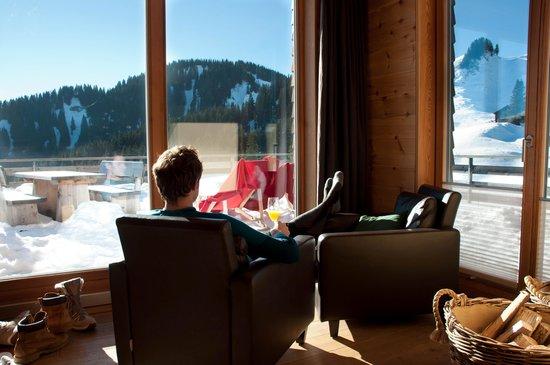 Berglodge: Chillen in der Lodge