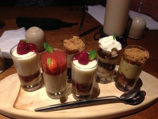 The Empress of Blandings: pudding taster pots !!!! Mmmm