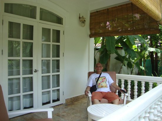 Maison Souvannaphoum Hotel: terrace