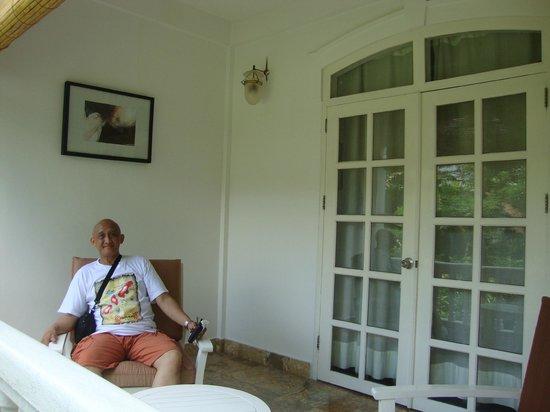 Maison Souvannaphoum Hotel: lovely terrace