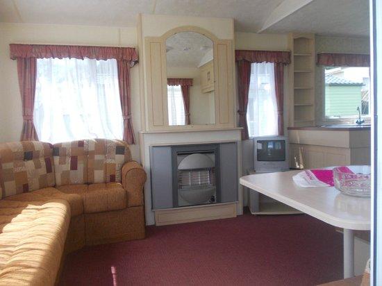 Parkdean - Torquay Holiday Park: inside caravan near reception LYNCH