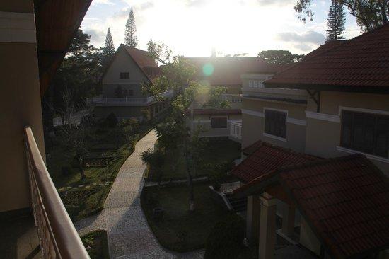 Monet Garden Villa: вид с балкона