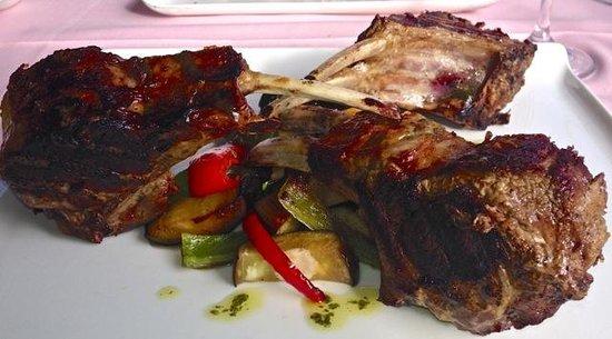 Lamb Chop Picture Of La Terraza De Teo Guadiaro Tripadvisor