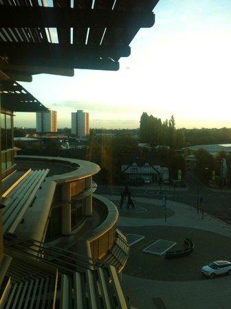 London Marriott Hotel Twickenham : Morning view