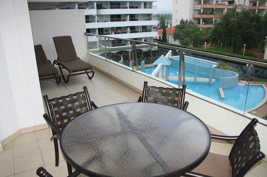 Ona Garden Lago: Балкон