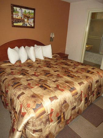 Sol Plaza Hotel Puno: Room with king sized bed