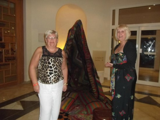Saphir Palace & Spa: lobby area