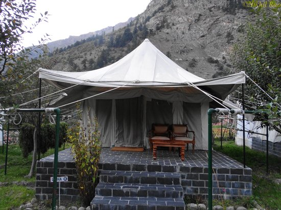 Banjara Camp &  Retreat - Sangla Valley Camp : super deluxe tent