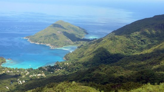 Victoria, Seychelles: Vue vers Baie Ternay