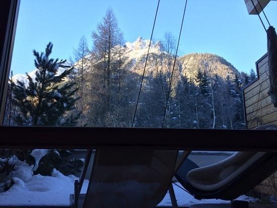 Naturhotel Waldklause: Ausblick aus dem Zimmer