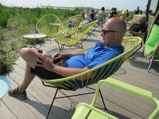 Restaurant Aan Zee : Lekker hangen